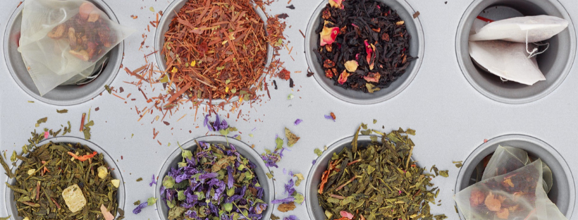 selection of herbal teas - 10 essential herbal teas with amazing health benefits