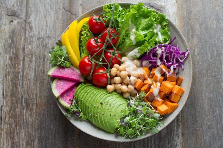 vegan buddha bowl vegan plant-based and WFPB diets