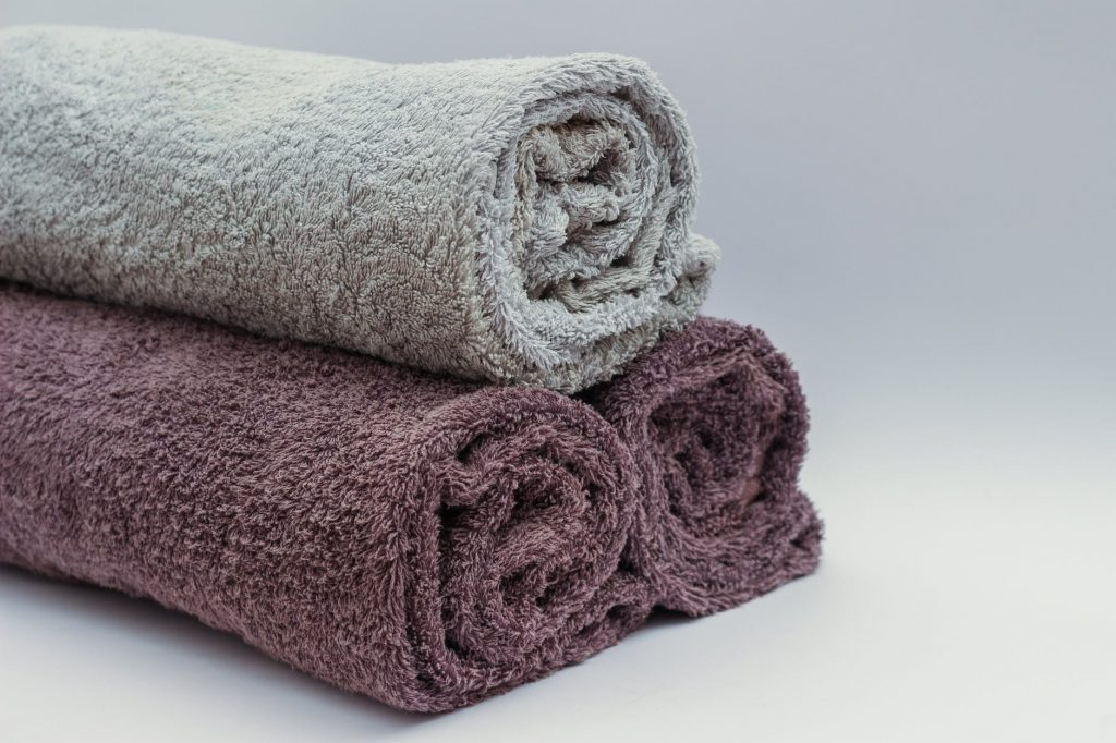 small towels - zero-waste gym essentials