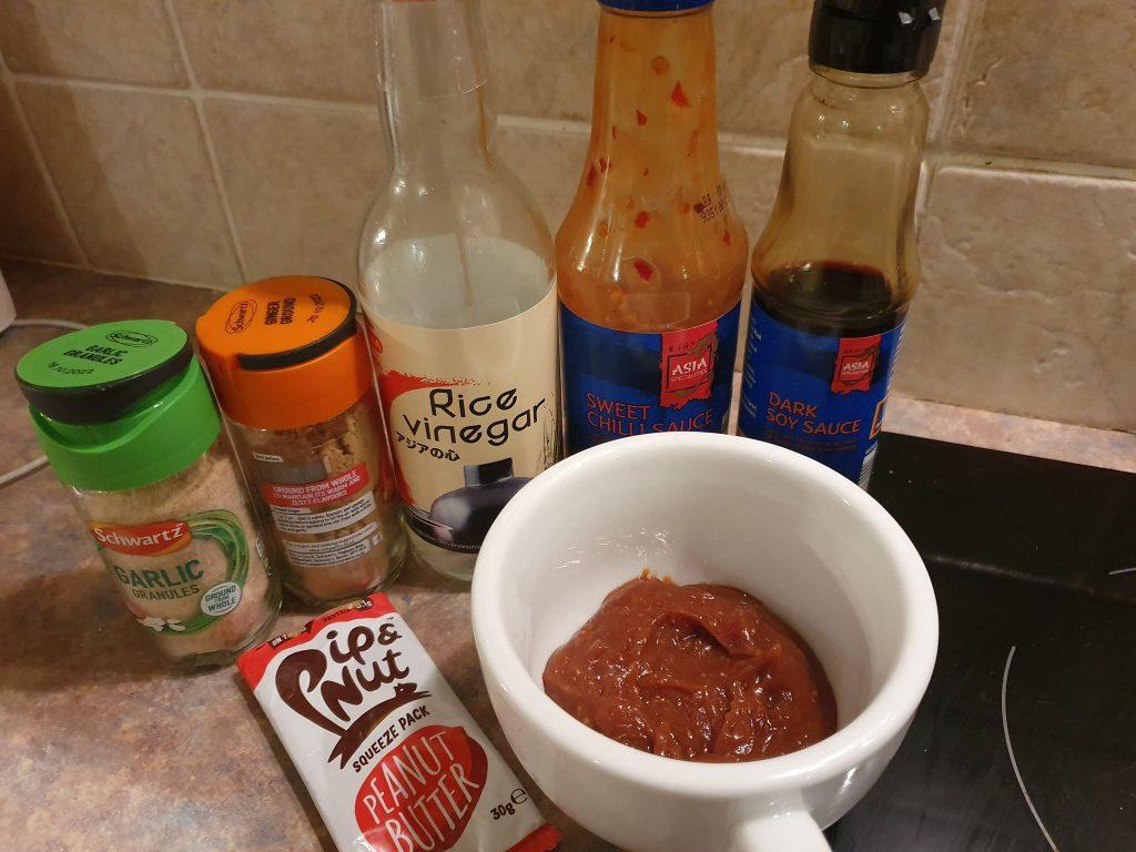 vegan satay sauce