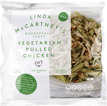 linda mccartney shredded chicken