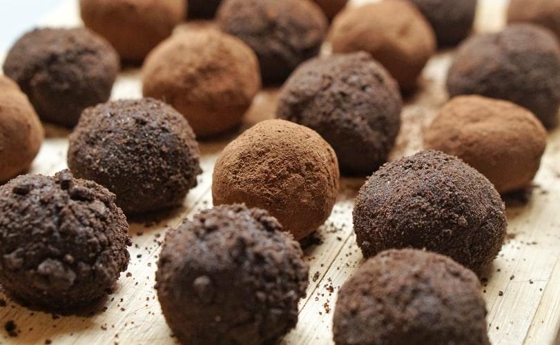 vegan mocha truffles