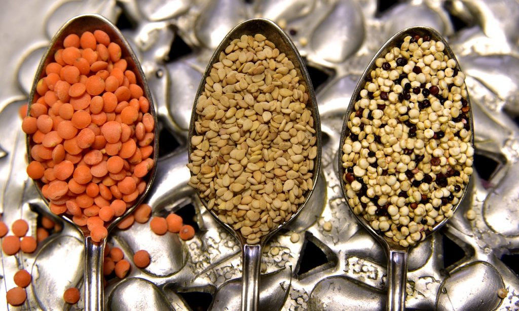 lentils - vegan sources of iron