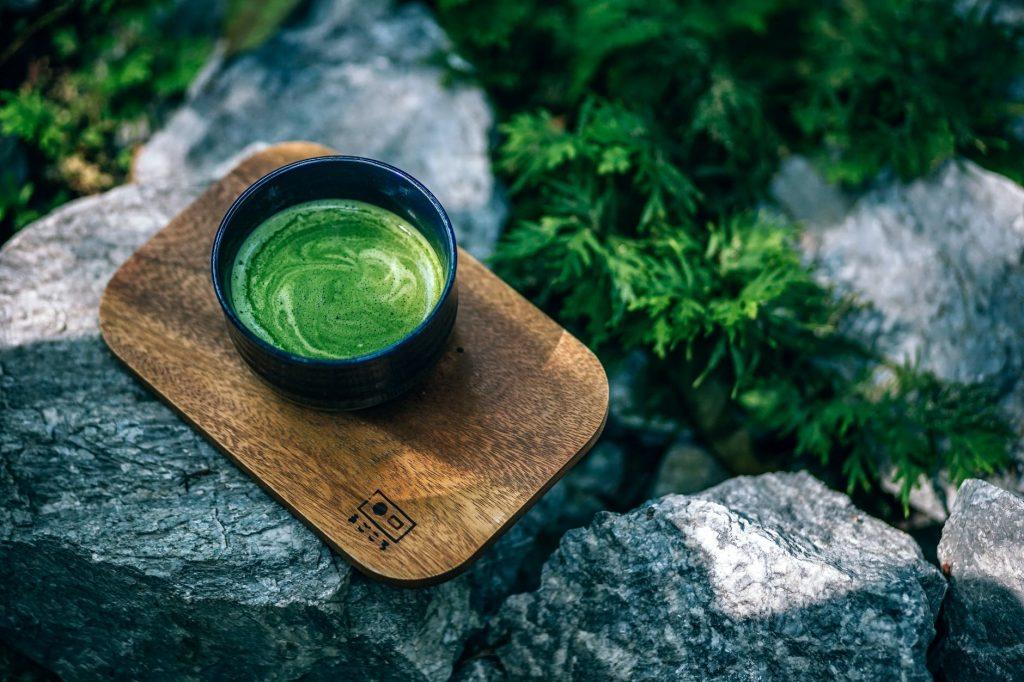matcha tea - healthy anti-aging foods for glowing skin