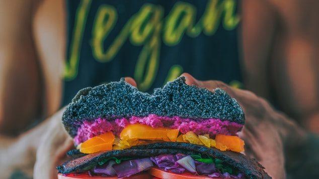vegan burger - guide to veganuary